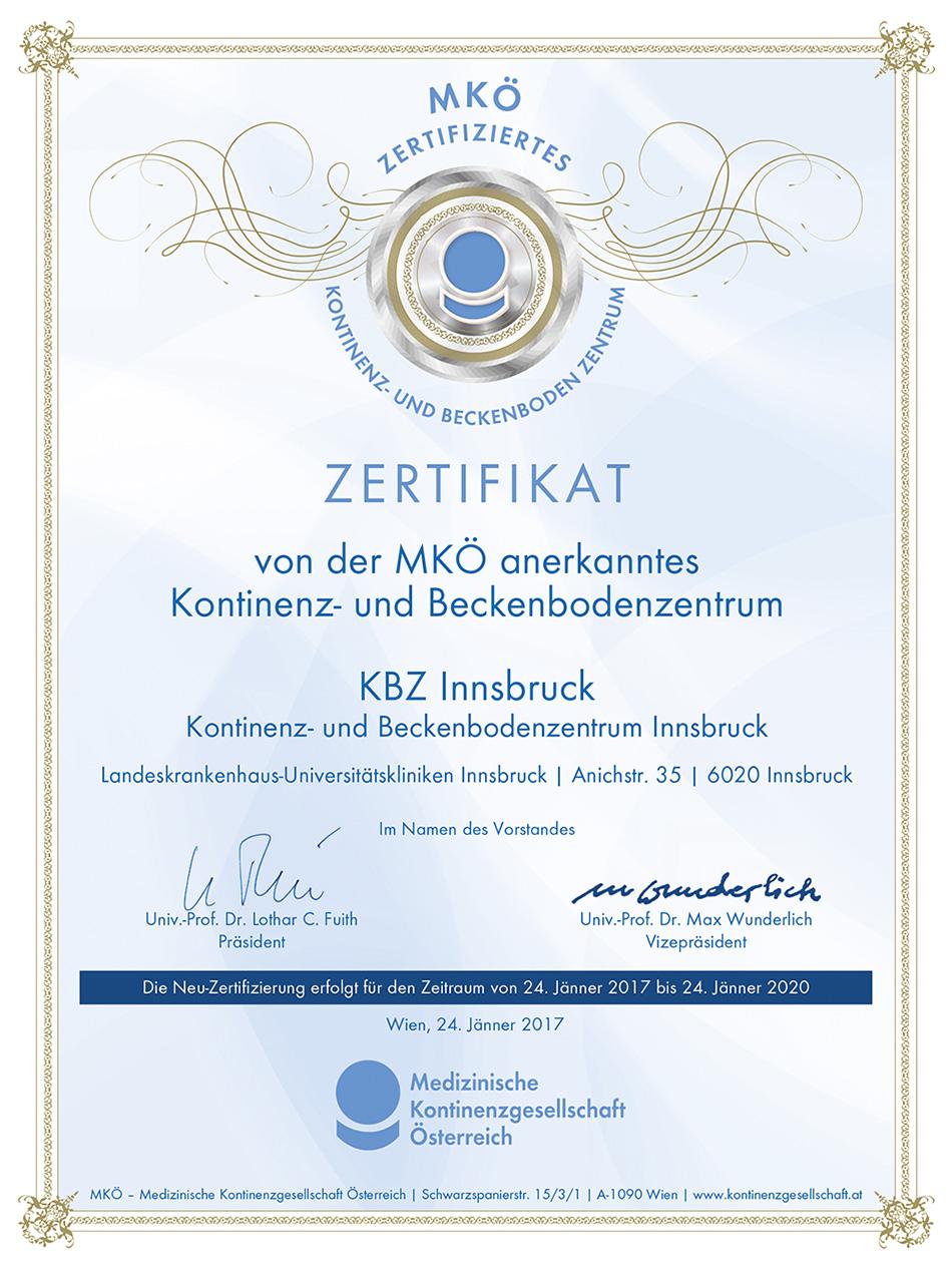 Koloproktologie - Uniklinik Innsbruck